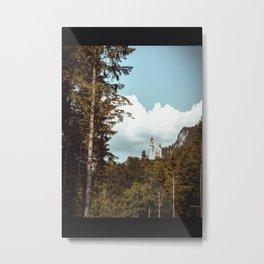 neuschwanstein castle Metal Print
