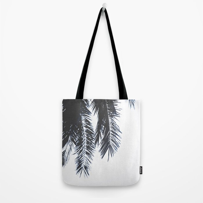 Palm Tree leaves abstract Tote Bag