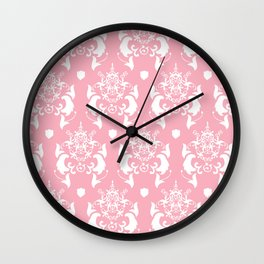 Juliet Pattern  Wall Clock