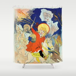 1890 Casino Enghien France Shower Curtain