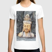 asian T-shirts featuring ASIAN GODDESS by JANUARY FROST