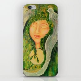 """Garden Bliss"" iPhone Skin"