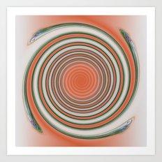 Spiral Abstract Art Print