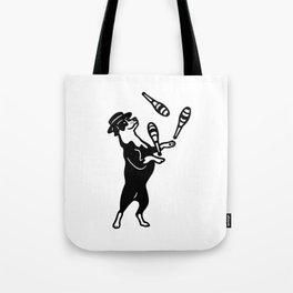 Juggler Tote Bag