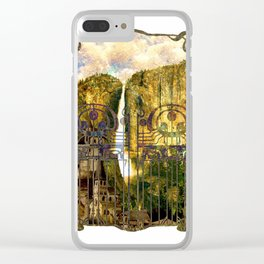 Elvish Places I Clear iPhone Case