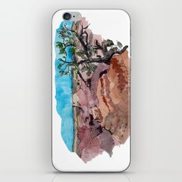 a rip in the earth iPhone Skin