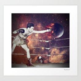 Kick Art Print
