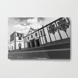 Vintage portuguese architecture Metal Print