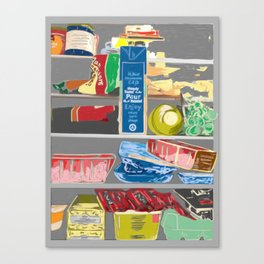 Fridge, 2013. Canvas Print