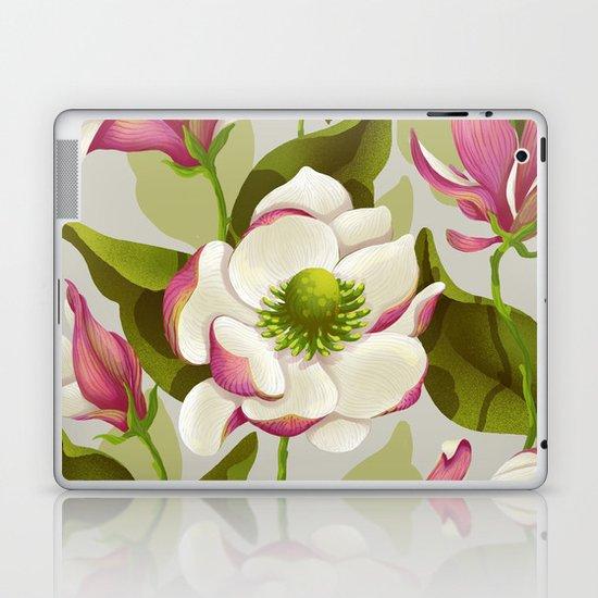 magnolia bloom - daytime version Laptop & iPad Skin