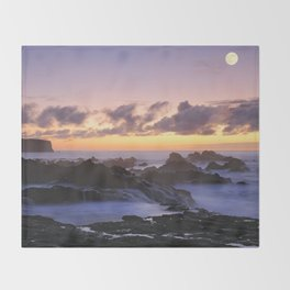 Seascape Throw Blanket