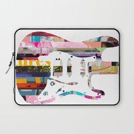Electric Guitar   Magazine Strip Art Laptop Sleeve