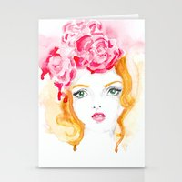 doll Stationery Cards featuring Doll by S'ANNie