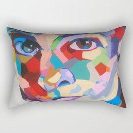 Tanto brete por el arete Rectangular Pillow