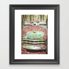 Old Chevy Blues Framed Art Print