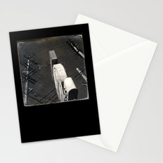 The Wizz take 2, Black and White San Francisco Stationery Cards
