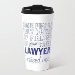LAWYER'S DAD Travel Mug