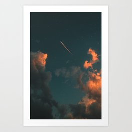 it's lonely out in space Art Print