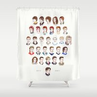 helen Shower Curtains featuring Time May Change Me II by Helen Green