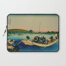 Ryogoku Bridge over the Sumida River Laptop Sleeve