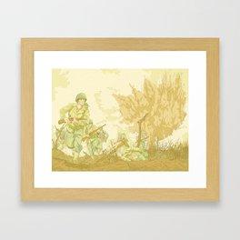 Battlefields of WW2 Framed Art Print