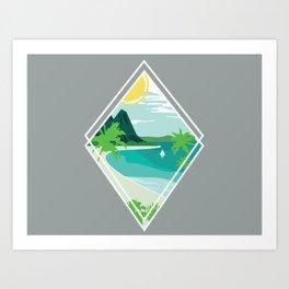 Hawaii Time Art Print