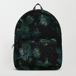 Art splash brush strokes paint abstract print Backpack