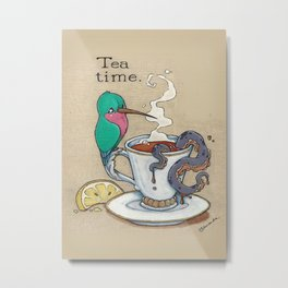Tea Time Metal Print