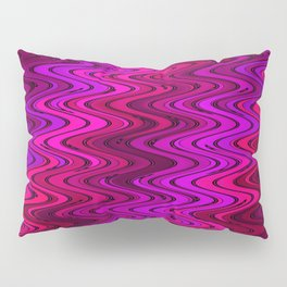 WAVY #2 (Purples, Fuchsias, Violets & Magentas) Pillow Sham
