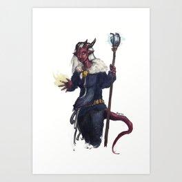 Tiefling sorcerer Art Print