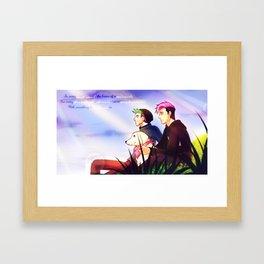 Markiplier and Jacksepticeye - Dreamers Framed Art Print