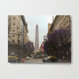 El Obelisco, Buenos Aires Metal Print