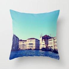 Memories from Venice 2 Throw Pillow