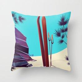 Telluride - Colorado's Rocky Mountains Throw Pillow