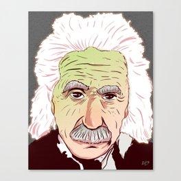 Einstein Canvas Print