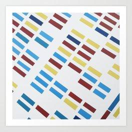 NYC Modern Painting Art Print