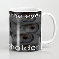 swag Mugs featuring Eyes [SWAG] by SWAG!