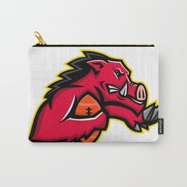 Wild Boar American Football Mascot Carry-All Pouch