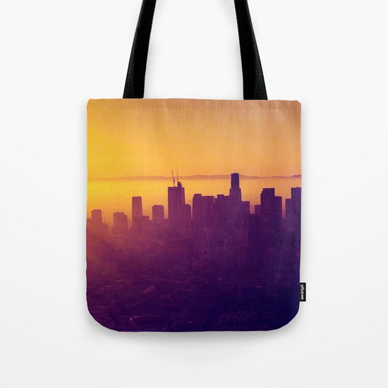Los Angeles at Sunset Tote Bag