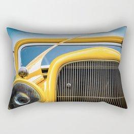 Yellow Truck Rectangular Pillow