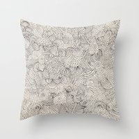 infinite Throw Pillows featuring Infinite Love by Marcelo Romero