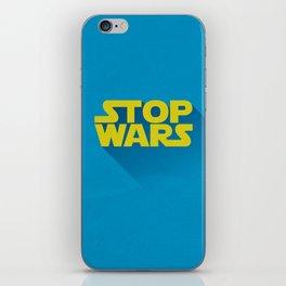 Stop Wars iPhone Skin