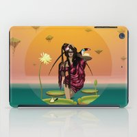 guardians iPad Cases featuring GUARDIANS #1 by ANVIK