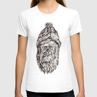 chewbacca T-shirts featuring Hipster Chewbacca  by LaurenNoakes