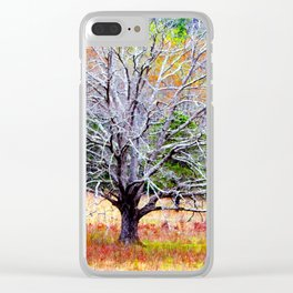Cades Cove Tree Clear iPhone Case