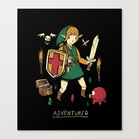 adventurer Canvas Print