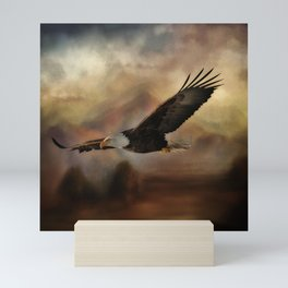 Eagle Flying Free Mini Art Print