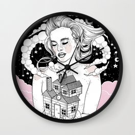Dreamy Home Wall Clock