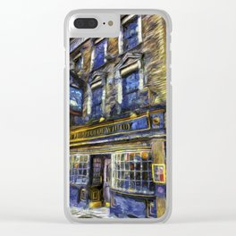 The Prospect Of Whitby Pub Art Clear iPhone Case