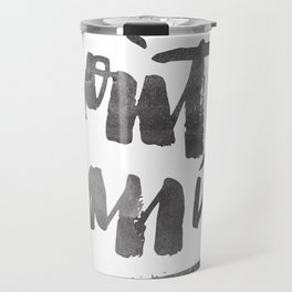 DON'T PANIC Travel Mug